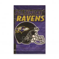 NFL Flag Baltimore Ravnes Helmet