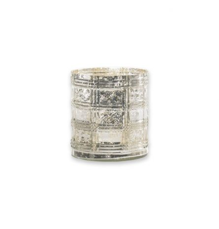 Nordic Vase Etched Glass