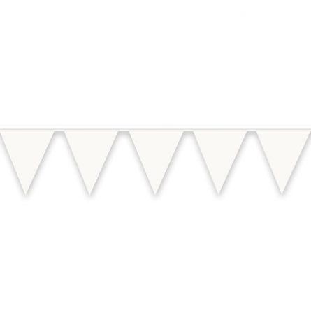 Pennant Banner White