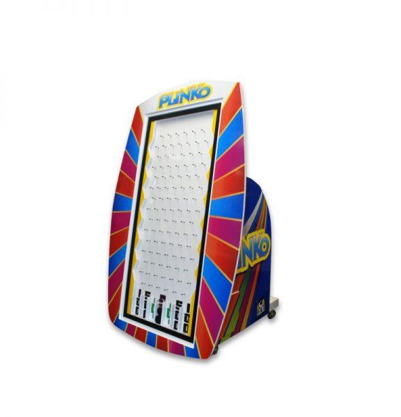 Plinko life size game rental pri productions inc for Plinko board dimensions