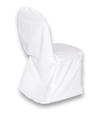 Polyester Chair Cover White