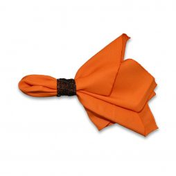 Polyester Orange Napkin