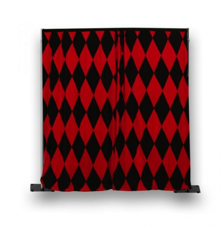 Red and Black Harlequin