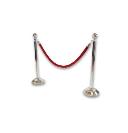 Rope & Stanchion Silver
