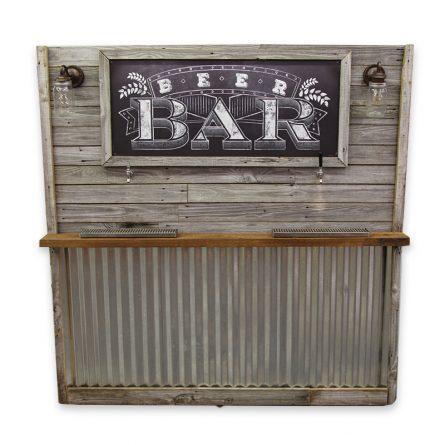 Rustic Beverage Bar