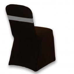 Spandex Chair Band Grey