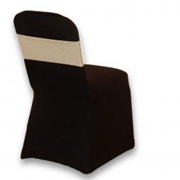 Spandex Chair Band Hologram Sparkle