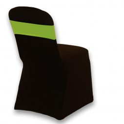 Spandex Chair Band Lime Green