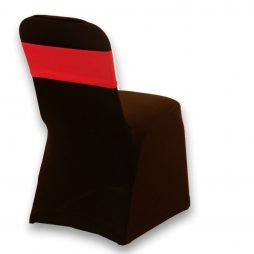 Spandex Chair Band Red