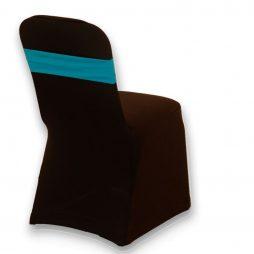 Spandex Chair Band Teal