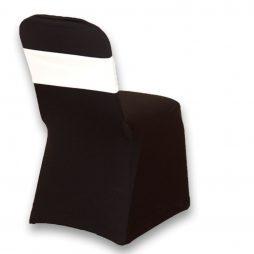Spandex Chair Band White