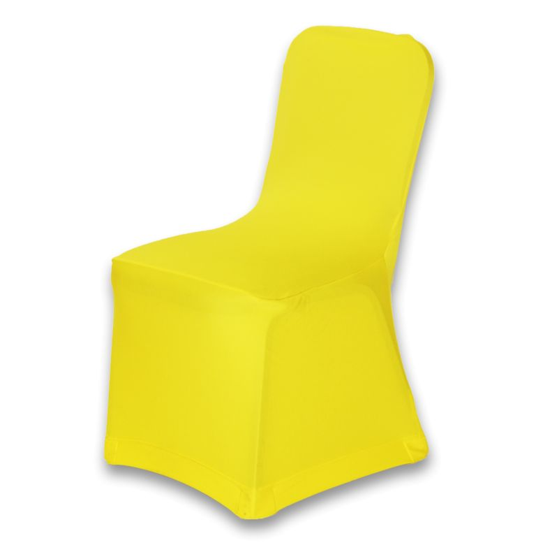 Spandex Chair Cover Yellow