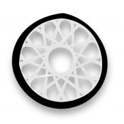 Spandex Disc Black and White