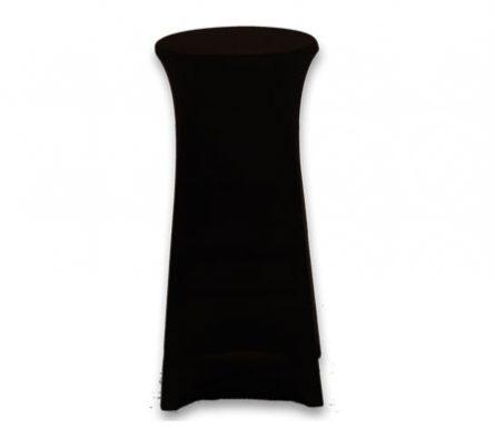 Spandex Stool Cover Black