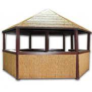 Tiki Hut Gazebo