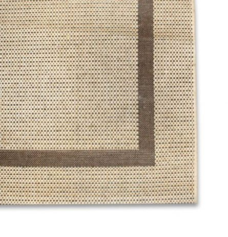 Tweed and Brown Rug