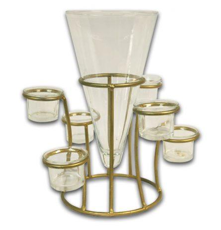 Vase and Votive Set