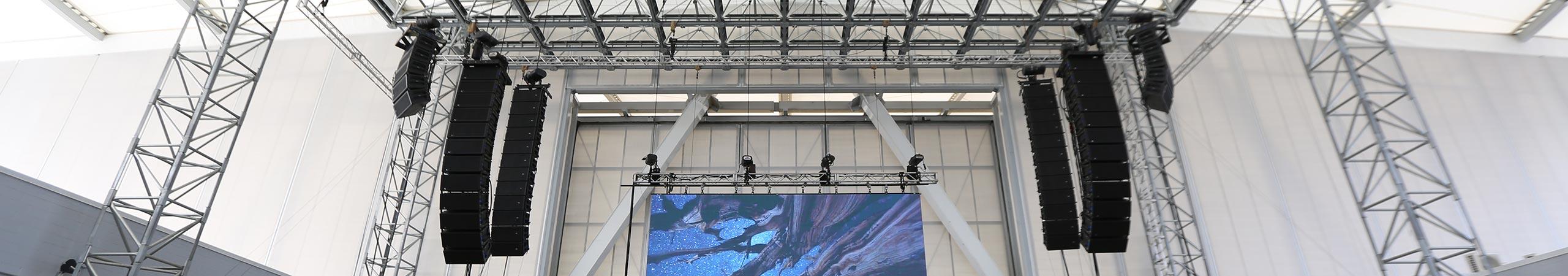 Jacksonville Concert Production Sound Equipment Rental