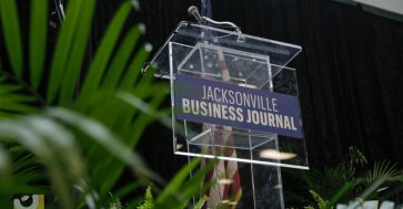 Jacksonvill Event Rental - Clear Acrylic Podium