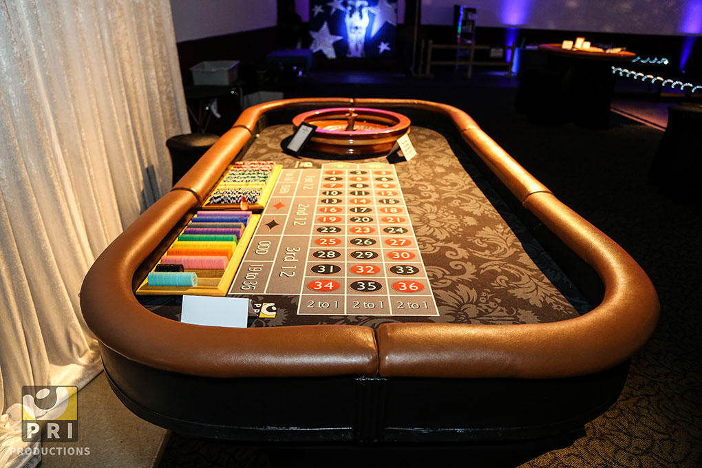 Casino Theme Night Party Rentals