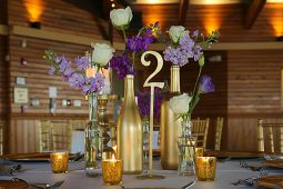 Jacksonville, FL Event Rentals Decor Centerpieces