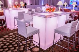 Jacksonville, FL Event Rentals Decor Decorative Lighting Acrylic