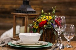 Jacksonville, FL Event Rentals Dinnerware and Catering Bowls