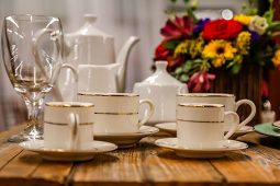 Jacksonville, FL Event Rentals Dinnerware and Catering Coffee and Tea