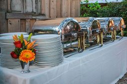 Jacksonville, FL Event Rentals Dinnerware and Catering Catering Equipment