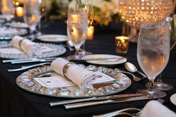Jacksonville, FL Event Rentals Dinnerware and Catering Plates Chargers
