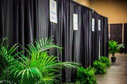 Jacksonville, FL Event Rentals Drapery Banjos