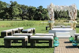 Jacksonville, FL Event Rentals Event Furniture Seating Benches