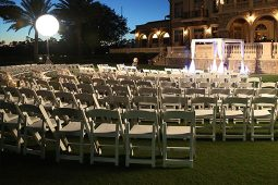 Jacksonville, FL Event Rentals Event Furniture Seating Chairs Folding Chairs