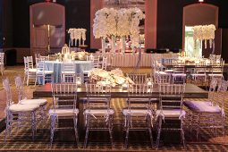 Jacksonville, FL Event Rentals Event Furniture Seating Chairs Chiavari Chairs