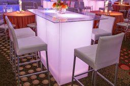 Jacksonville, FL. Event Rentals Event Furniture Seating Stools