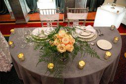 Jacksonville, FL Event Rentals Event Furniture Tables Folding Half Round Tables