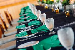 Jacksonville, FL Event Rentals Linens and Chair Decor Napkins