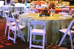Jacksonville, FL Event Rentals Linens and Chair Decor Table Linens Tablecloth 132