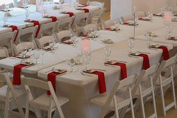 Jacksonville, FL 6ft Banquet Tablecloth Rental