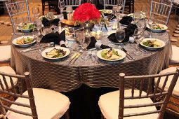 Jacksonville, FL Table Linens Tablecloth Overlays Rental
