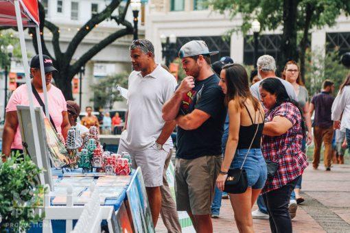 Jacksonville, FL Artwalk August 2017