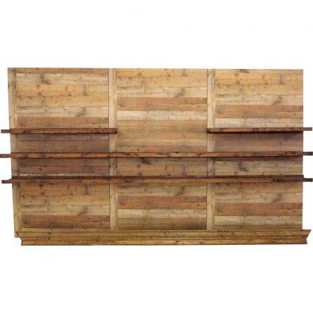 Wood Panel Back Bar