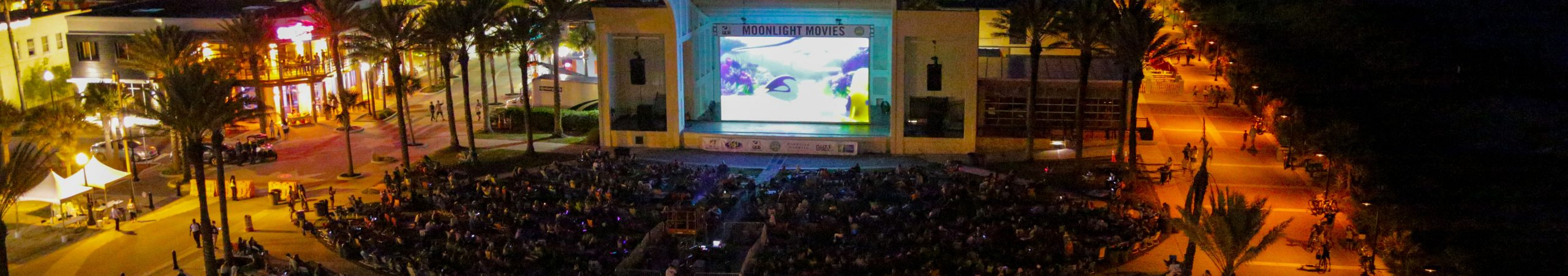 Step Outside for Moonlight Movies at Jacksonville Beach