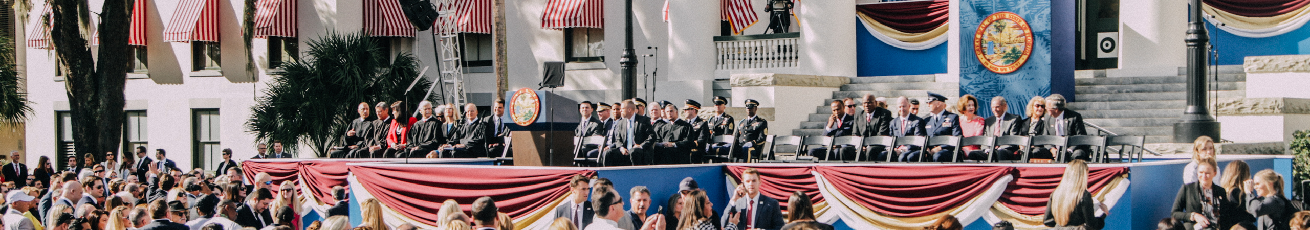 Ron Desantis Sworn in as 46th Governer – Swearing in Cermony