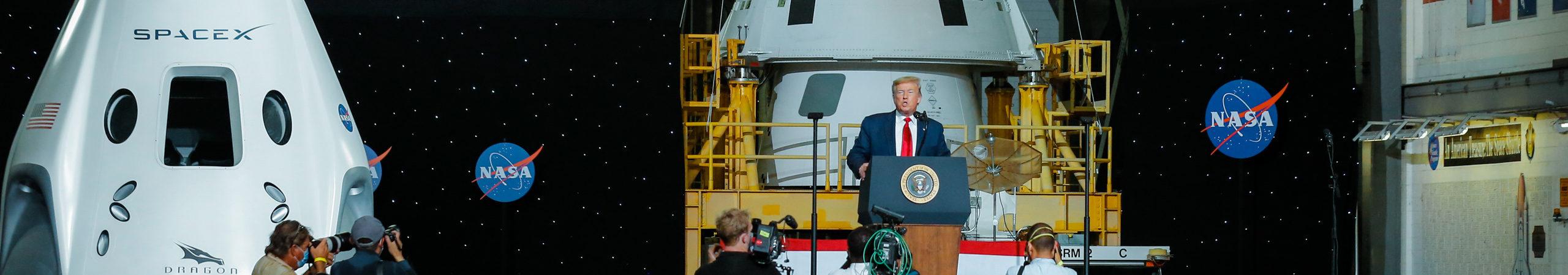 NASA / Space X Press Conference