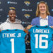 Jacksonville Jaguars Press Conference - Trevor Lawrence and Travis Etienne